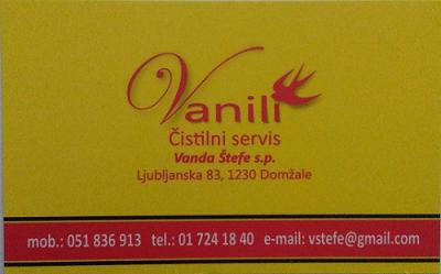 VANILI, Vanda Štefe s.p.