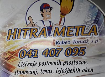 HITRA METLA čiščenje in vzdrževanje objektov Tomaž Keber s.p.